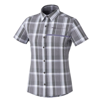 Shimano Button Shirt Trnsit SS Chk