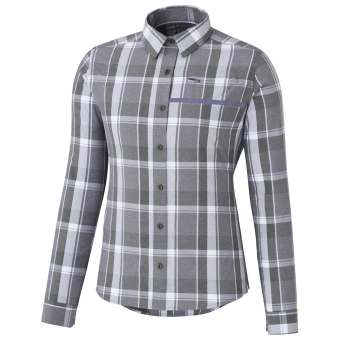 Shimano Button Up Shirt Trnsit Chk