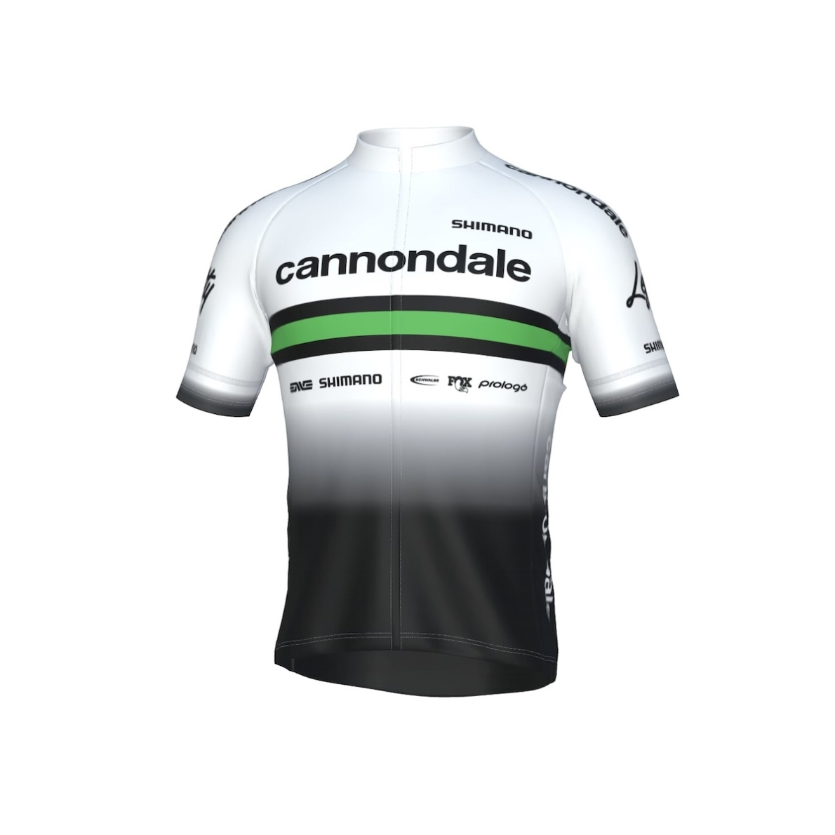 Cannondale Factory Racing Team 2020 Fietsshirt Wit