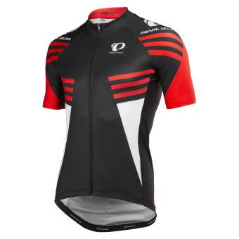Pearl Izumi Heren Factory Store Elite Pursuit LTD Fietsshirt Zwart/Rood L