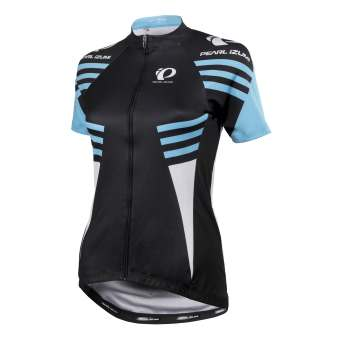 Pearl Izumi Dames Factory Store Elite Pursuit LTD Fietsshirt Zwart/Blauw L