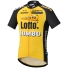 Team Lotto Jumbo Shirt KM - Zwart/Geel